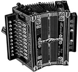 Monarch accordion